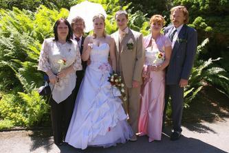 Novomanželé a rodiče