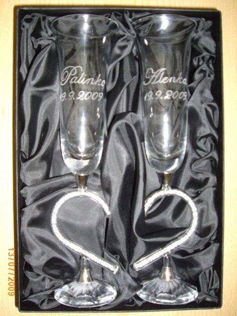 Čo by sme chceli - a takéto poháre aj máme (ako svadobný dar od mojej tety)