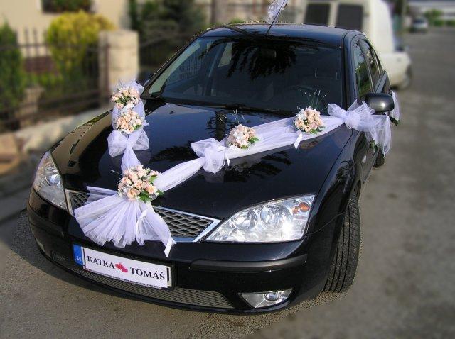 Prípravy na našu svadbu 19.09.2009 - ... a výzdoba aut