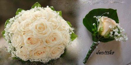 toto bude moja svadobná kytička