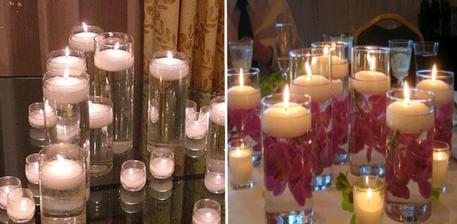 plovoucí svíčky již nakoupeny