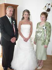 Jolika s rodičmi