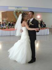 Prvý manželský tanec.Milujem se čím dál víc....
