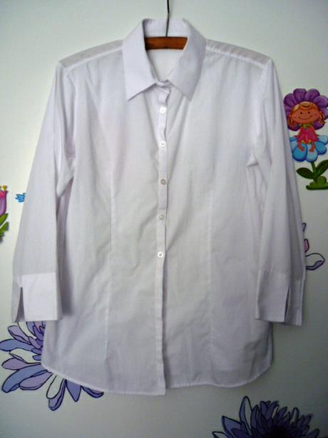 bílá košile dámská - Obrázek č. 1