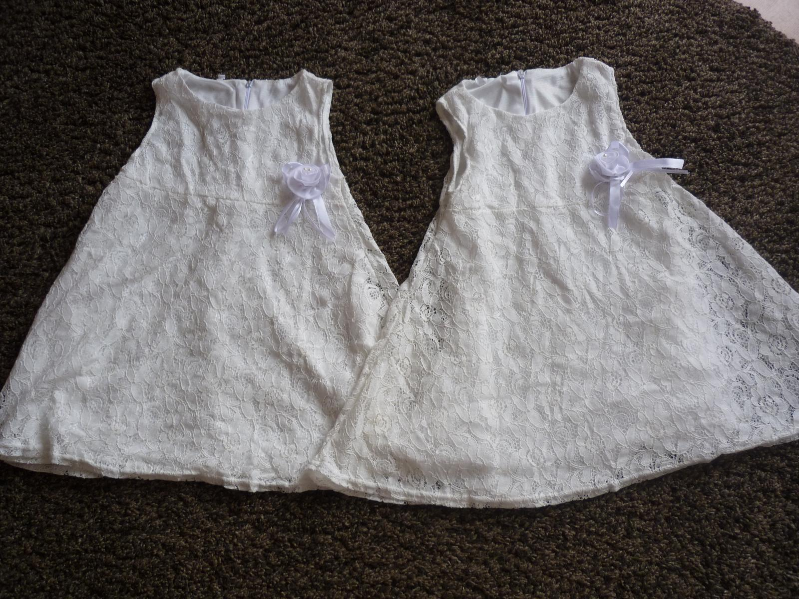 krajkové šaty pro družičky vel. 3-4 roky - Obrázek č. 1