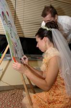 malování společného obrazu