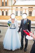 Princeznovské svatební šaty - 40, 40