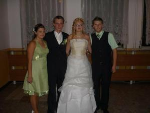 bratranec Janik s priateľkou Jarkou
