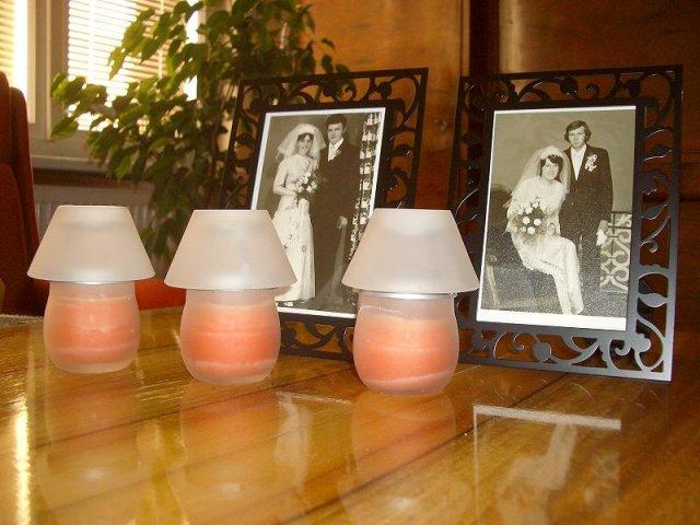 Erika Danielová{{_AND_}}Zdenek Růžička - svadobne fotky rodicov na hlavny stôl (veľmi milé prekvapenie pre vašich rodičov)