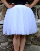 Dámská tylová sukně Tutu, M