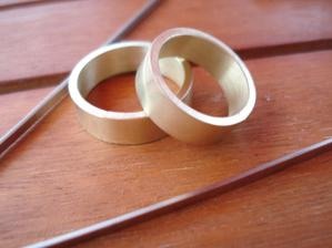 naše prstýnky polotovar :)