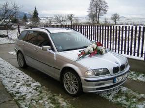 Svadobné autíčko pre môjho drahého
