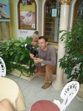 Náš profesionálny fotograf, keď budú fotky od neho dám na web:)))