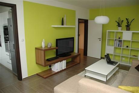 Čo nás inšpiruje... - No a toto je presná dispozícia nášho bytu: obývačka s dvomi dverami. Presne takého rozloženie nábytku plánujeme. Plus jedálenský stôl pod oknom.
