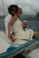 Sv. Lucie na lodi pri zapadu slunce...teda tady uz spise po...