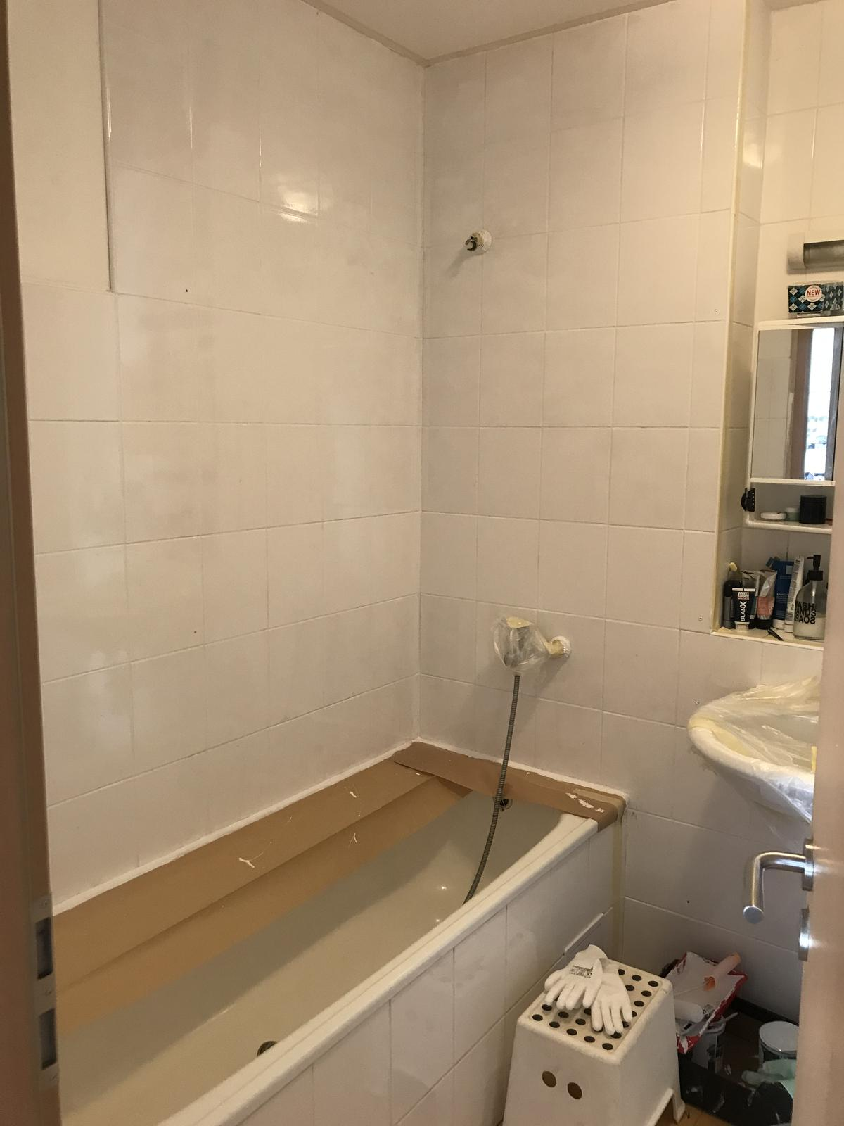 Z příšerné koupelny tvořím trochu lepší 💪 - Obrázek č. 9