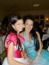 Moja kmorticka Katka s dcerou Rebekou