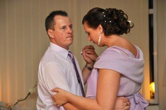 Trosku smutny,ze uz je pomaly koniec nasej krasnej svadby.