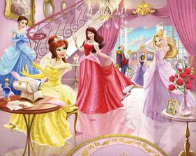 fairy princess mural