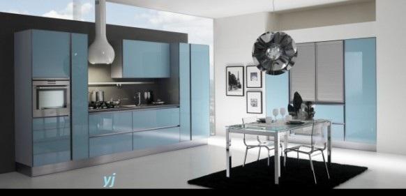 Moje milovane farby v interieri- modra, biela, - Do Errebi