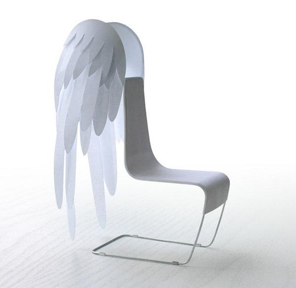 Ked sa hlasi dizajn o slovo :) - anjelska stolicka od  Kibardin design