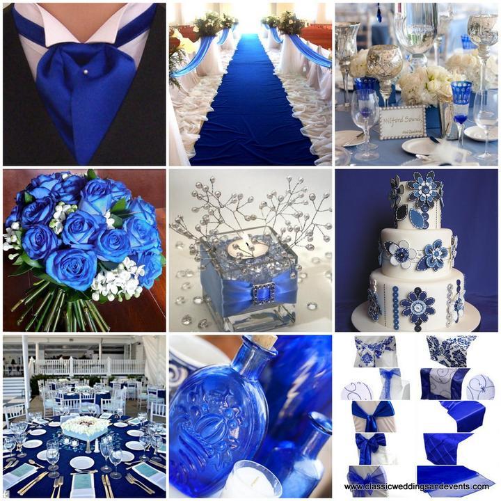 ♛ ♛ ♛ royal blue wedding inspiration - Obrázok č. 6