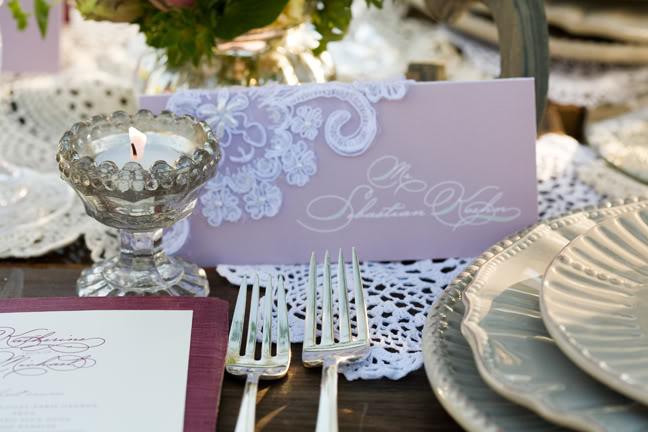Lace Wedding Decorations & Details - Obrázok č. 27