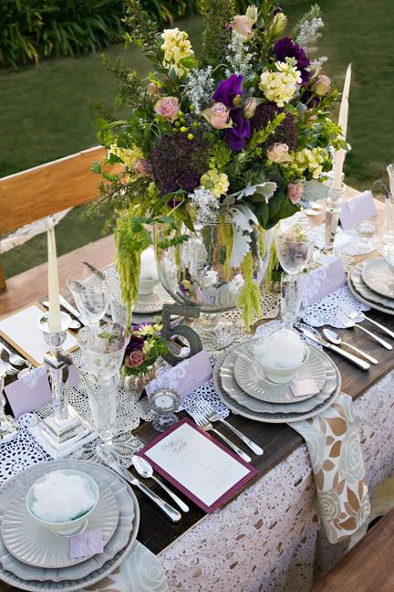 Lace Wedding Decorations & Details - Obrázok č. 31