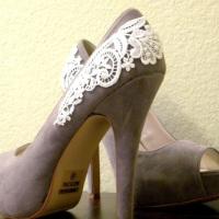 Lace Wedding Decorations & Details - Obrázok č. 15