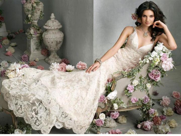 Lace Wedding Decorations & Details - Obrázok č. 33
