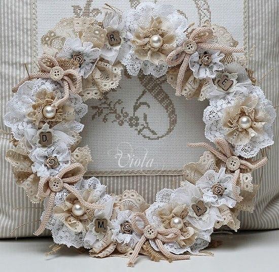 Lace Wedding Decorations & Details - Obrázok č. 35