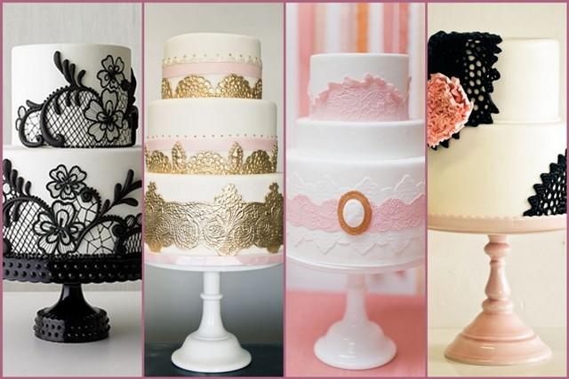 Lace Wedding Decorations & Details - Obrázok č. 44