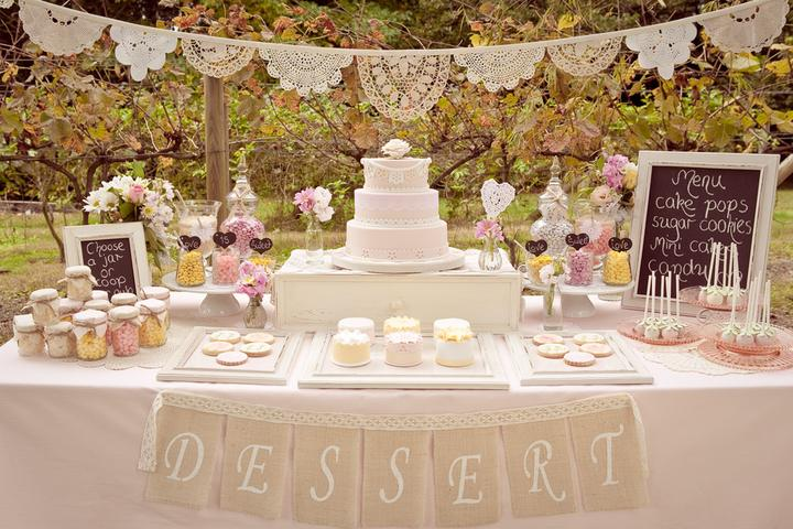 Lace Wedding Decorations & Details - Obrázok č. 46