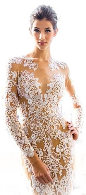 Lace Wedding Decorations & Details - Obrázok č. 63