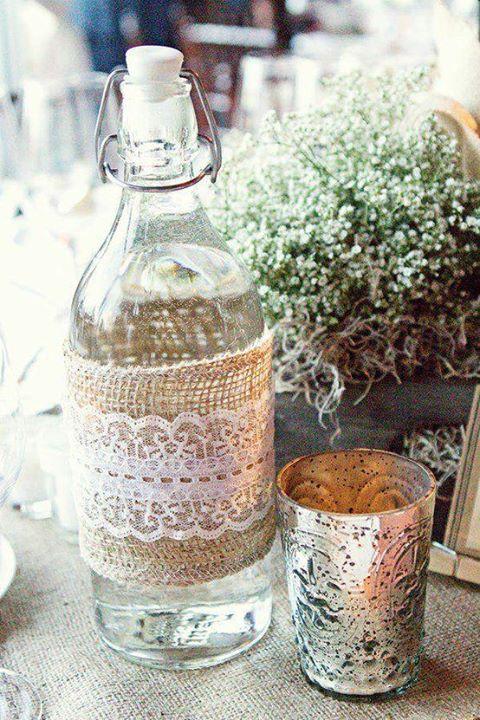 Lace Wedding Decorations & Details - Obrázok č. 68