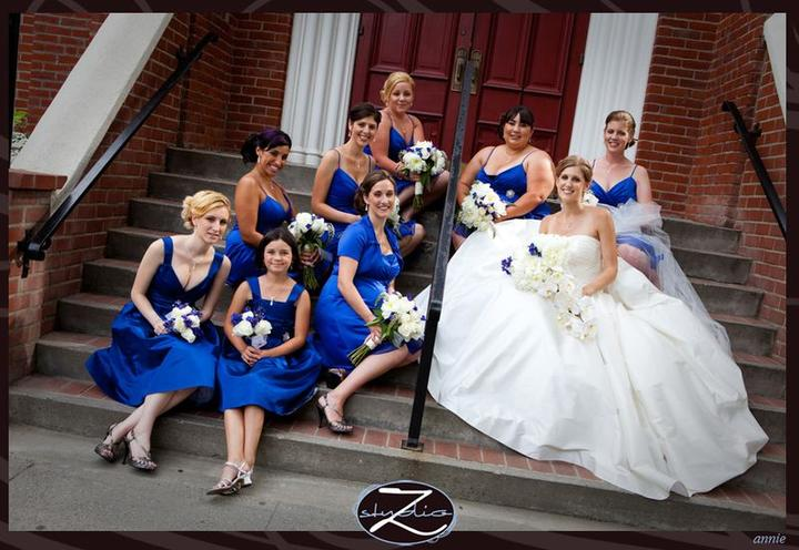♛ ♛ ♛ royal blue wedding inspiration - Obrázok č. 10