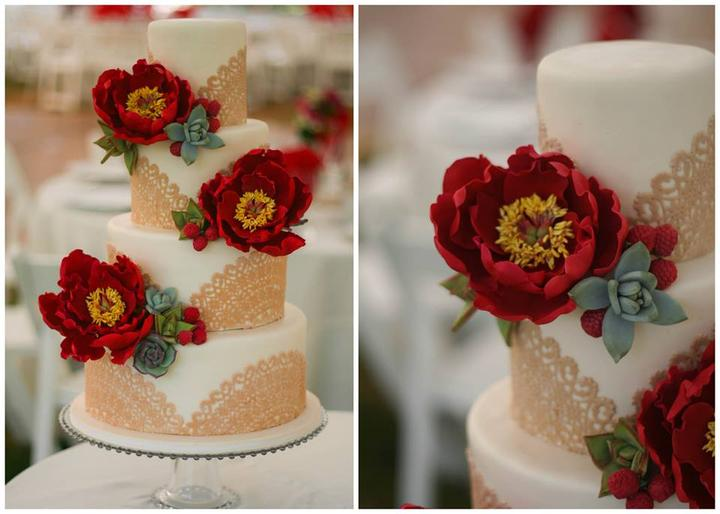 Lace Wedding Decorations & Details - Obrázok č. 69