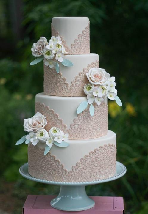 Lace Wedding Decorations & Details - Obrázok č. 71