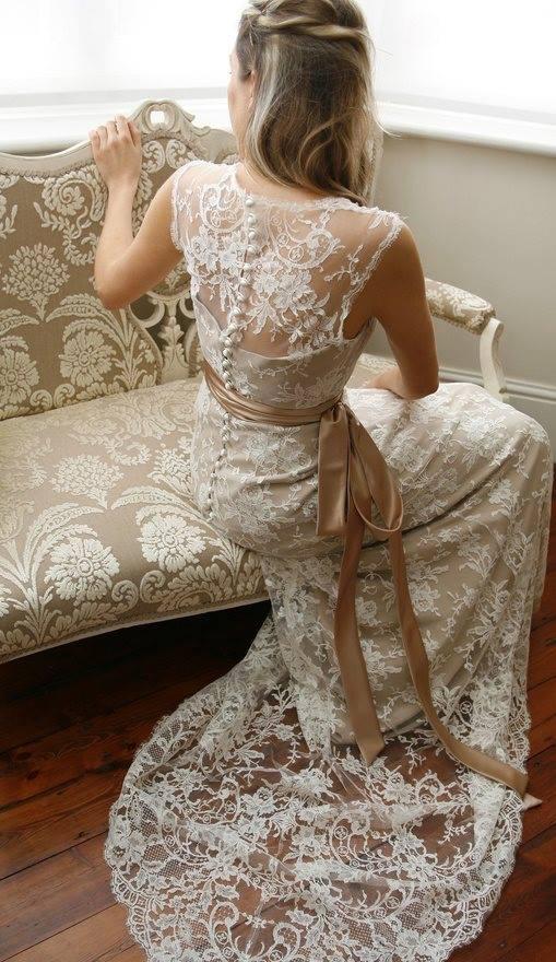 Lace Wedding Decorations & Details - Obrázok č. 72