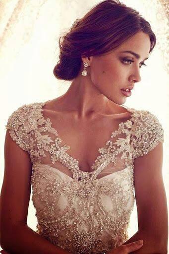 Lace Wedding Decorations & Details - Obrázok č. 73