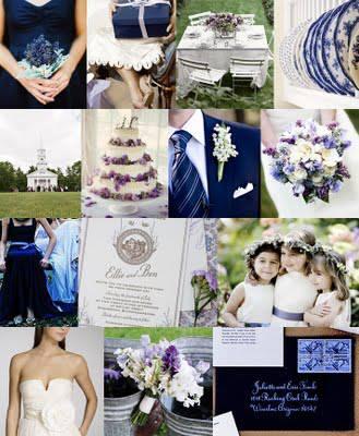 ♛ ♛ ♛ royal blue wedding inspiration - Obrázok č. 1