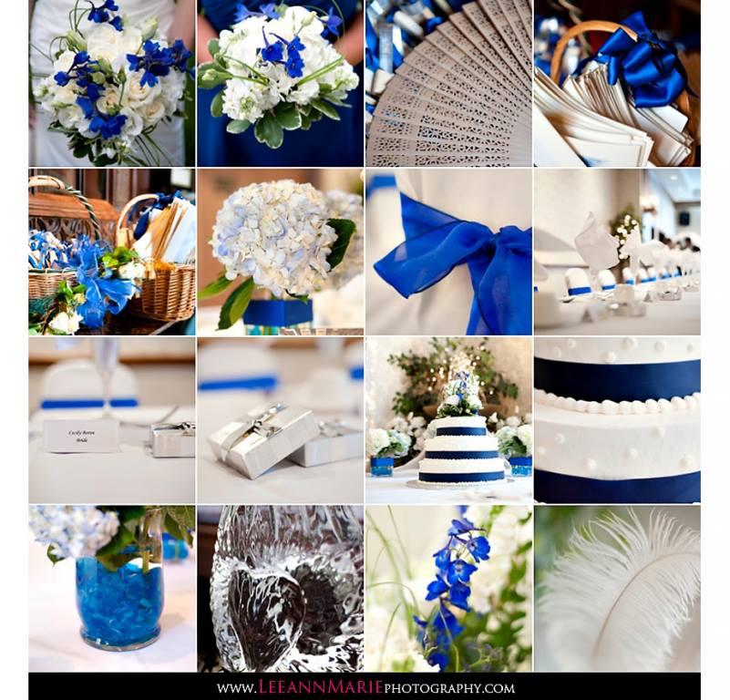 ♛ ♛ ♛ royal blue wedding inspiration - Obrázok č. 3