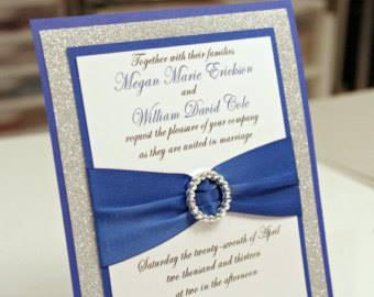 ♛ ♛ ♛ royal blue wedding inspiration - Obrázok č. 5