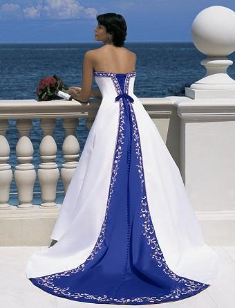 ♛ ♛ ♛ royal blue wedding inspiration - Obrázok č. 12