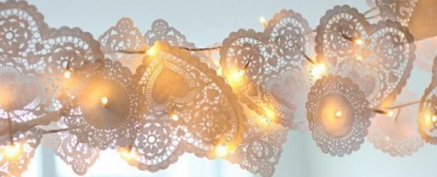 Lace Wedding Decorations & Details - Obrázok č. 79