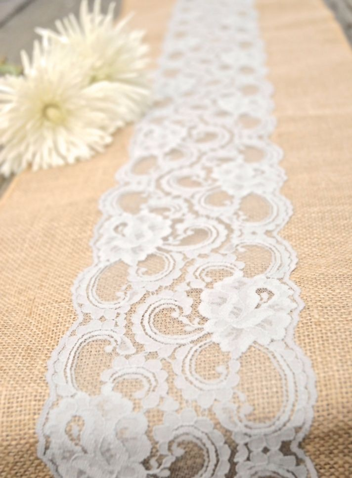 Lace Wedding Decorations & Details - Obrázok č. 80