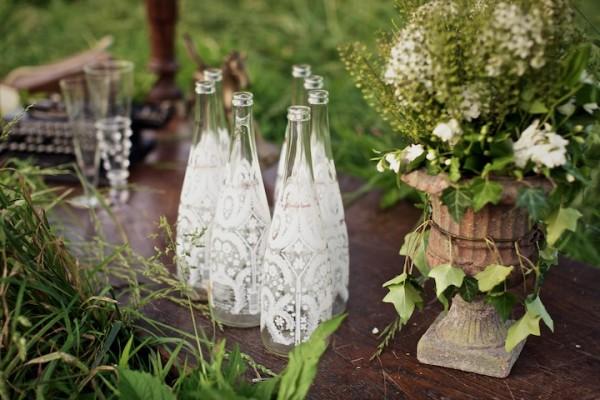 Lace Wedding Decorations & Details - Obrázok č. 85