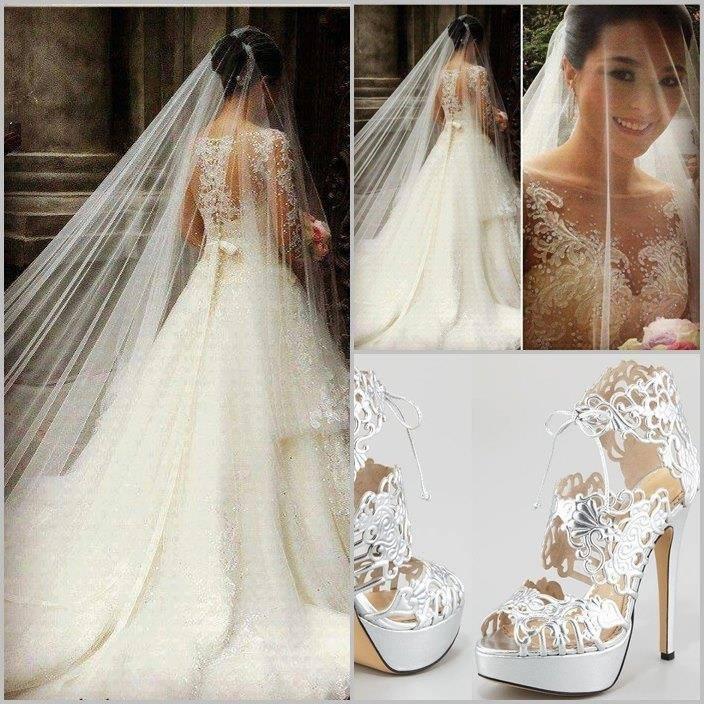 Lace Wedding Decorations & Details - Obrázok č. 92