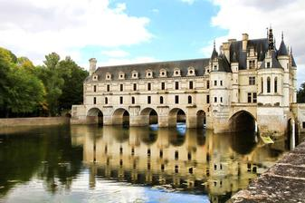 France castle chenonceau