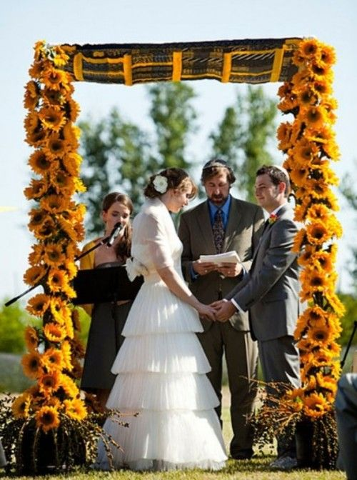 Sunflower wedding - Obrázok č. 14